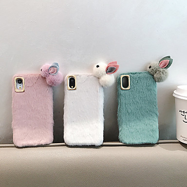 cheap iPhone Cases-Case For Apple iPhone 11 / iPhone 11 Pro / iPhone 11 Pro Max Shockproof Back Cover Animal / Cartoon / Plush PC