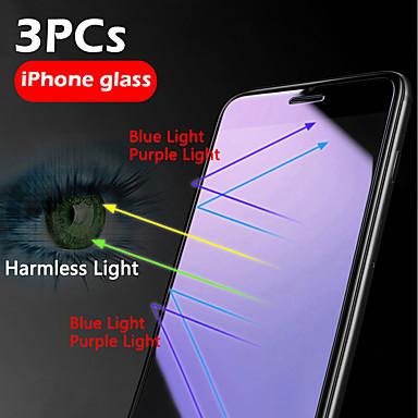 Недорогие Защитные плёнки для экрана iPhone-3шт HD защита глаз от синего фиолетового света Iphone X / XS / XR / XS Макс / 11 / 11Pro / 11Pro Макс сотовый телефон защиты экрана закаленная пленка