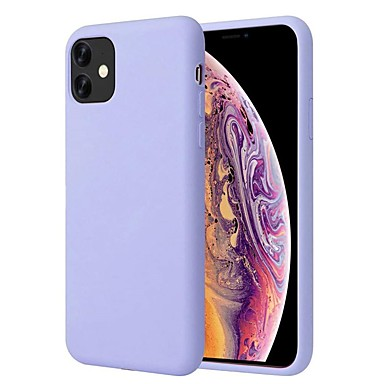 Недорогие Кейсы для iPhone-чехол для яблока iphone 11 / iphone 11 pro / iphone 11 pro max ультратонкая задняя крышка из твердого силикона для iphone xs max / xs / xr / 8 plus / iphone 7