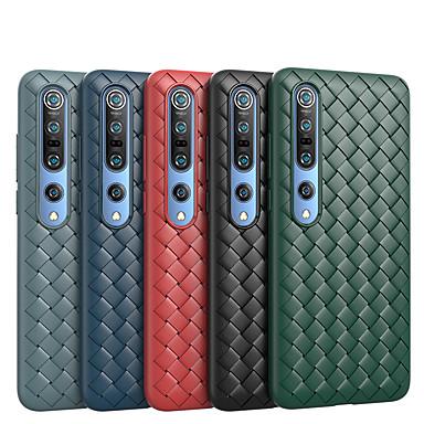 Недорогие Чехлы и кейсы для Xiaomi-Кейс для Назначение Xiaomi Xiaomi Mi 10 / Xiaomi Mi 10Pro Защита от удара Кейс на заднюю панель Полосы / волосы ТПУ
