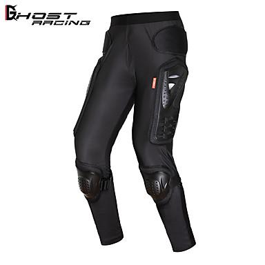 Недорогие Мотоциклетные куртки-Мотоциклетная броня брюки Мотокросс против выпадения брюки Мотоциклетные штаны езда лайкра спандекс износостойкие бедра брюки наколенники защита рыцаря