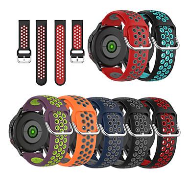 economico Cinturini per Pebble-Cinturino cinturino in silicone 20mm per tempo di ciottoli tondo / ciottolo 2
