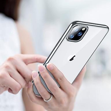Недорогие Кейсы для iPhone-чехол для apple iphone 7/8/7p / 8p / x / xs / xr / xs max / 11 / 11pro / 11pro max ударопрочный / плакировка задней крышки прозрачный тпу