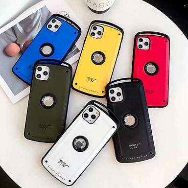 Недорогие Кейсы для iPhone-iphone11pro max военного класса против падения чехол для мобильного телефона xs max силиконовый защитный рукав 7 / 8plus защитный рукав