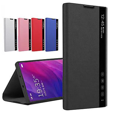 Недорогие Чехлы и кейсы для Xiaomi-Кожаный чехол smart view для xiaomi redmi note 8 pro note 7 mi 9t pro mi cc9 k20 redmi 8a redmi 8 cc9e note 8t прозрачный чехол для окна