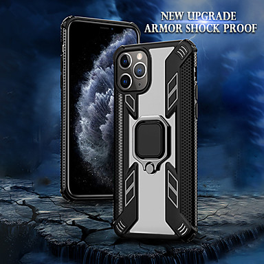 Недорогие Кейсы для iPhone-магнитный держатель для Apple iPhone iphone 11 pro max xr xs max x 8 плюс 7 плюс 6 плюс чехол роскошный ударопрочный броня прозрачная задняя крышка ПК