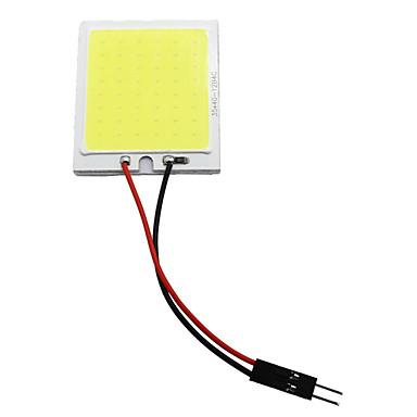 Недорогие Освещение салона авто-10 шт. Cbw cob 48smd чип белый настольная лампа из светодиодов t10 автомобиля светодиодные парковочные лампы авто интерьер панели света гирлянда номерного знака свет