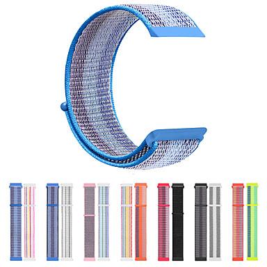 Недорогие Аксессуары для смарт-часов-Ремешок для часов для Fitbit Versa / Fitbi Versa Lite / Fitbit Versa2 Fitbit Спортивный ремешок Нейлон Повязка на запястье