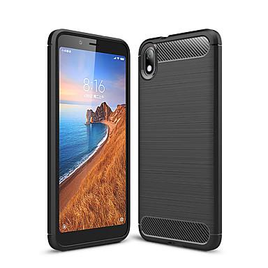 Недорогие Чехлы и кейсы для Xiaomi-Naxtop углеродного волокна матовый мягкий бампер задняя крышка полностью защитный чехол для телефона для Xiaomi Mi CC9 / CC9E / Redmi Note 8 Pro / 7A / 8A / 8