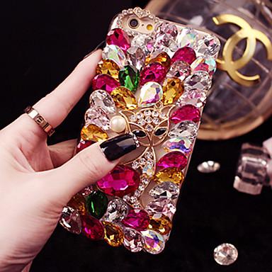 Недорогие Кейсы для iPhone-iphone11pro макс роскошный блестящий алмаз искусственный камень хс макс ручной полный бриллиант чехол для мобильного телефона 6/7 / 8 плюс защитный чехол