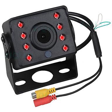 Недорогие Камеры заднего вида для авто-ziqiao 480tvl 720 x 480 ccd проводная 140-градусная камера заднего вида водонепроницаемая / Plug and Play / ночного видения для автобусов / грузовиков