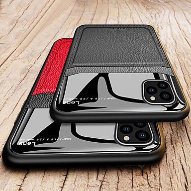 Недорогие Кейсы для iPhone-защита камеры ПК кожаный чехол для телефона для Apple Iphone 11 Pro Max XR XS Макс х 8 плюс 7 плюс 6 плюс мягкий ТПУ противоударная задняя крышка