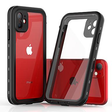 Недорогие Кейсы для iPhone-Кейс для Назначение Apple iPhone 11 / iPhone 11 Pro / iPhone 11 Pro Max Защита от удара / Защита от пыли / Защита от влаги Чехол Прозрачный силикагель