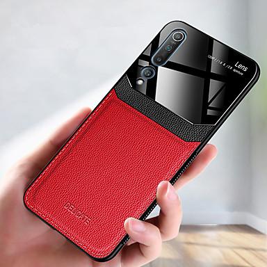 Недорогие Чехлы и кейсы для Xiaomi-роскошный кожаный чехол для телефона для xiaomi mi 10 pro cc9 pro mi 9t pro mi 9 se мягкий тпу противоударный задняя крышка акриловая защита камеры