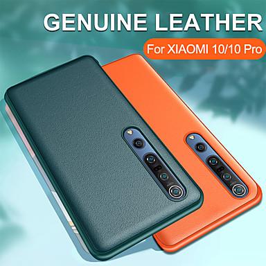 Недорогие Чехлы и кейсы для Xiaomi-роскошный кожаный защитный чехол для Xiaomi Mi 10 / Mi 10 Pro