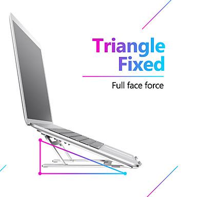 Недорогие Подставки и стенды для MacBook-5 передач регулируемая алюминиевая складная подставка для ноутбука настольная подставка для ноутбука настольная подставка для ноутбука для 7-15 дюймов MacBook Pro Air