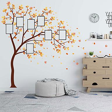 cheap Home Decor-Landscape / Floral / Botanical Wall Stickers Plane Wall Stickers Decorative Wall Stickers, PVC Home Decoration Wall Decal Wall Decoration 1pc