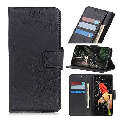 Недорогие Чехол Samsung-Кейс для Назначение SSamsung Galaxy A9 / A7 / Galaxy S10 Кошелек / Бумажник для карт Чехол Плитка Кожа PU / ТПУ