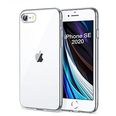 Недорогие Кейсы для iPhone-защитный чехол для iphone se 2020 чехол тонкий мягкий прозрачный высокой четкости тпу чехлы для телефона для iphonese 2020