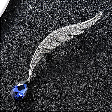 cheap Brooches-Women's  Brooches Classic Petal Stylish Classic Jewelry Gold Silver For Party Gift Daily Work Festival