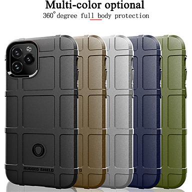 Недорогие Кейсы для iPhone-прочный футляр для iphone 11 pro max xr xs max x 8 плюс 7 плюс 6 плюс роскошный резиновый мягкий тпу противоударная броня задняя крышка