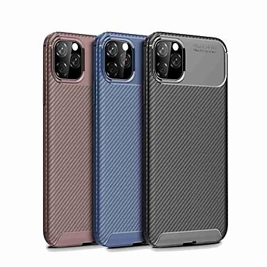 baratos Capinhas para Celulares-Capinha para apple iphone 11 / iphone 11 pro / iphone 11 pro max à prova de choque capa traseira cor sólida tpu para iphone 7/7 plus / 8/8 plus / x / xs / xr / xs max