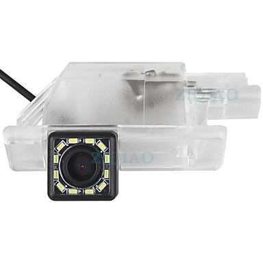 Недорогие Камеры заднего вида для авто-ziqiao 480 телеканалов 720 x 480 ccd проводная 170-градусная водонепроницаемая камера заднего вида / plug and play для автомобиля