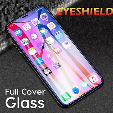Недорогие Защитные плёнки для экрана iPhone-1шт HD защита глаз от синего фиолетового света iphone X / XS / XR / XS Макс / 11 / 11Pro / 11Pro Макс сотовый телефон защита экрана закаленная пленка