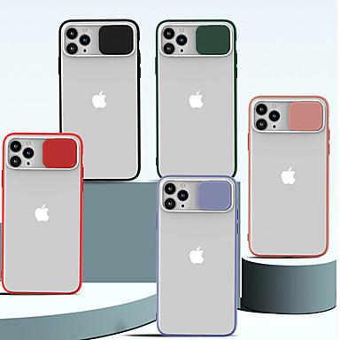 Недорогие Кейсы для iPhone-11pro max матовый наполовину объектив защиты головы анти-царапин оболочки мобильного телефона xs max силиконовая мягкая оболочка объектива двухтактный защитный чехол 6/7 / 8plus