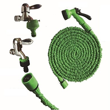 cheap Automotive Tools & Equipment-100FT New Magic Flexible Garden Hose Expandable Watering Hose With Plastic Hoses Telescopic Pipe With Spray Gun To Watering