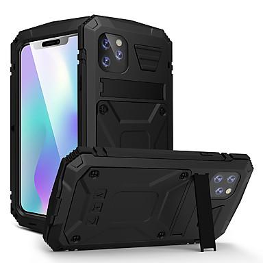 Недорогие Кейсы для iPhone-чехол для iphone 11pro max новый кронштейн три корпуса с защитой от мобильного телефона xs max водонепроницаемый и ударопрочный с функцией крепления xr x защитный корпус
