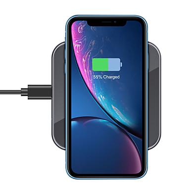 Недорогие Беспроводные зарядные устройства-15/10 / 7,5 / 5 Вт беспроводное зарядное устройство USB зарядное устройство USB светодиодные фонари / с кабелем / мульти-выход 1 порт USB 2 A / 1 A / 1,67 A DC 12 В / DC 9 В / DC 5 В для Apple Watch