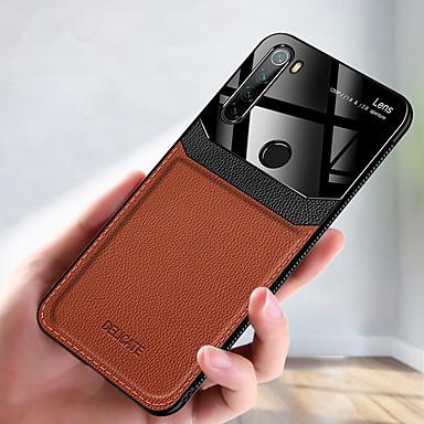 Недорогие Чехлы и кейсы для Xiaomi-роскошный кожаный чехол для телефона для xiaomi redmi note 8t note 8 pro k30 k20 pro redmi 8a note 7 redmi 8 мягкий тпу противоударный задняя крышка акриловая защита камеры