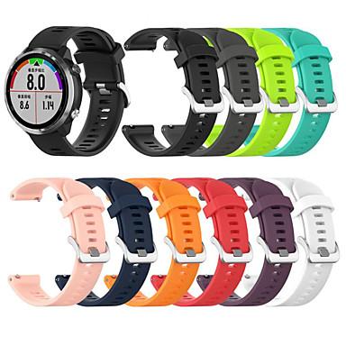 Недорогие Аксессуары для смарт-часов-силиконовый браслет 20мм спортивные ремешки для часов браслеты для garmin forerunner 645 часы