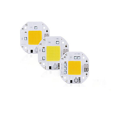 رخيصةأون LED وإضاءة-عالية الطاقة 100 واط 70 واط 50 واط cob الصمام رقاقة 220 فولت 110 فولت أدى cob رقاقة اللحام ديود الحرة للأضواء الكاشف الذكية ic لا حاجة سائق