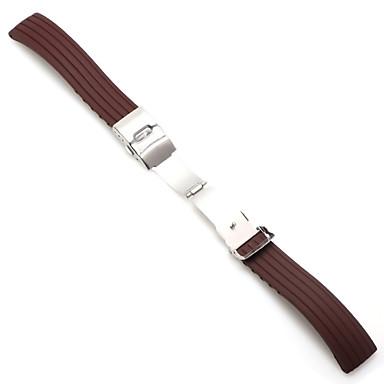 Недорогие Часы для Samsung-18мм 20мм 22мм 24мм силиконовый ремешок складной пряжкой для samsung galaxy watch gear s2 s3 быстрый релиз резиновый браслет ремешок ремешок