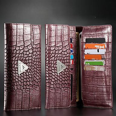 Недорогие Чехлы и кейсы для HTC-крокодил шаблон все ниже 6,5 дюймов универсальный телефон сумка для iphone 11 кожаный чехол бумажник флип samsung кредитная карта для huawei сумка xiaomi