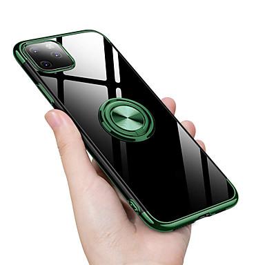 Недорогие Кейсы для iPhone-подставка для пальца подставка для Apple iphone 11 pro max xr xs max x 8 плюс 7 плюс 6 плюс прозрачное покрытие ТПУ крышка телефона зеленые аксессуары