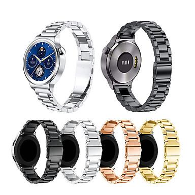 Недорогие Ремешки для часов Huawei-Ремешок для часов для Huawei Fit / Huawei Honor S1 / Huawei Watch / Huawei B5 Huawei Спортивный ремешок Нержавеющая сталь Повязка на запястье