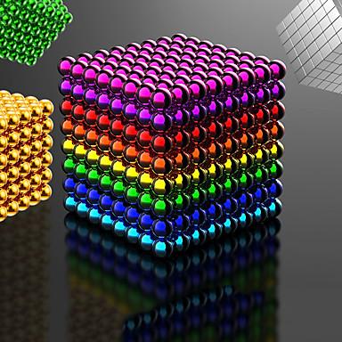 ieftine Jucării cu Magnet-216-1000 pcs 5mm Jucării Magnet bile magnetice Lego Super Strong pământuri rare magneți Magnet Neodymium Magnet Neodymium Stres și anxietate relief Birouri pentru birou Reparații Adulți Băieți Fete