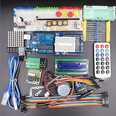 cheap DIY Kits-UNO R3 Basic Starter Learning Kit Upgrade Version For Arduino