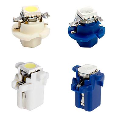 Недорогие Освещение салона авто-B8.4 b8.5 светодиодные автомобильные датчики свет светодиодная панель приборов 1 5050 инструмент 12 В постоянного тока белый синий 10 шт.