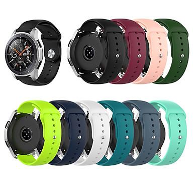 Недорогие Часы для Samsung-силиконовый ремешок для часов для samsung galaxy watch 46mm / gear s3 / gear2 r380 / gear2 neo r381 / live браслет r382 ремешок