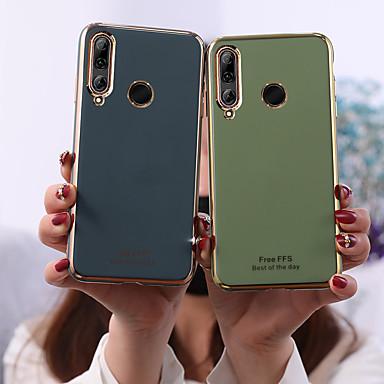 Недорогие Чехлы и кейсы для Huawei-Кейс для Назначение Huawei Huawei P30 / Huawei P30 Pro / Huawei P30 Lite Матовое Кейс на заднюю панель Плитка ТПУ