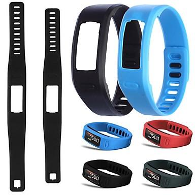 Недорогие Аксессуары для смарт-часов-Ремешок для часов для Vivofit Garmin Спортивный ремешок TPE Повязка на запястье