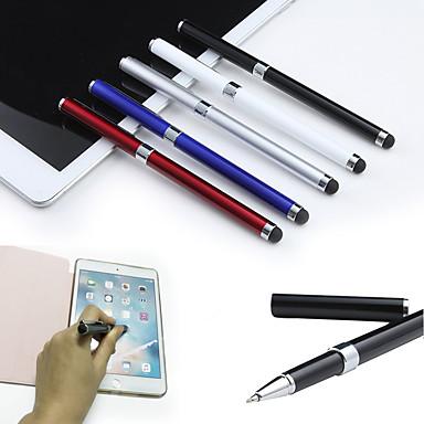 저렴한 핸드폰 참-2-에서 -1 용량 성 터치 스크린 스타일러스 펜 및 볼펜 ipad air 2/1 미니 1/2/3/4 iphone 8 7 스마트 폰 태블릿 pc 펜