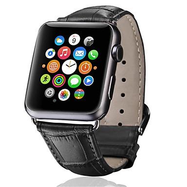 Недорогие Аксессуары для смарт-часов-ремешок для часов для Apple Watch серии 5/4/3/2/1 яблоко классическая пряжка ремешок из натуральной кожи