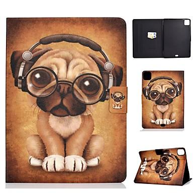 Недорогие Кейсы для iPhone-чехол для яблока ipad air / ipad mini 3/2/1/4/5 держатель карты / флип / выкройка чехлы для тела для собак искусственная кожа для ipad air 10.5 2019 / ipad 10.2 / pro 11 2020 / ipad 2017 / ipad 2018