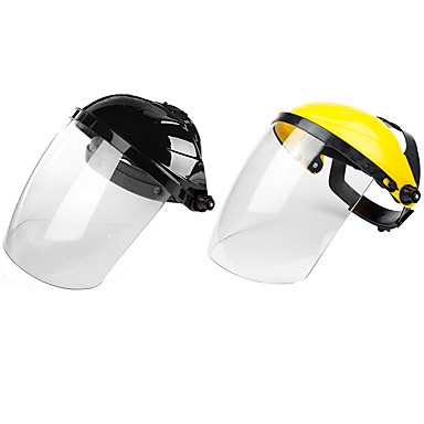 cheap Personal Protection-PC Raw Materials Transparent Lens Anti-UV Anti-shock Welding Helmet Face Shield Solder Mask Welding mask Moyorcycle Scooter Glasses