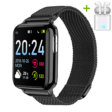 cheap Smart watches-JSBP PV5 Smart Watch BT Fitness Tracker Support Notify/ Heart Rate Monitor/ ECG PPG Sport Bluetooth Smartwatch Compatible IOS/Android Phones